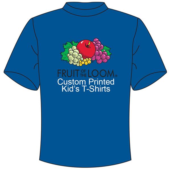 custom printing on fotl kids t shirt urban prints t