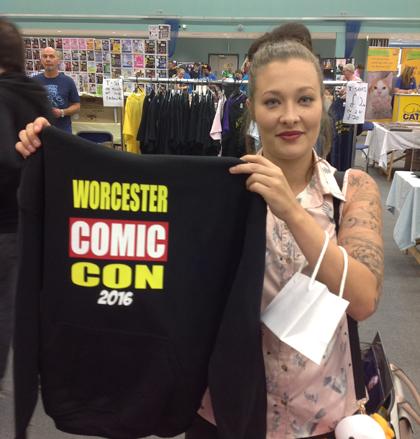 Comic Con Hoodie Customer