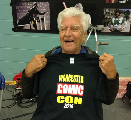 David Prowse with T-Shirt