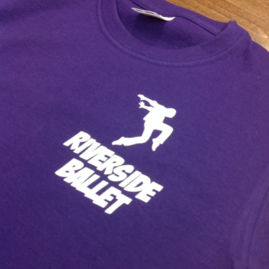 Riverside Ballet custom printed T-Shirt