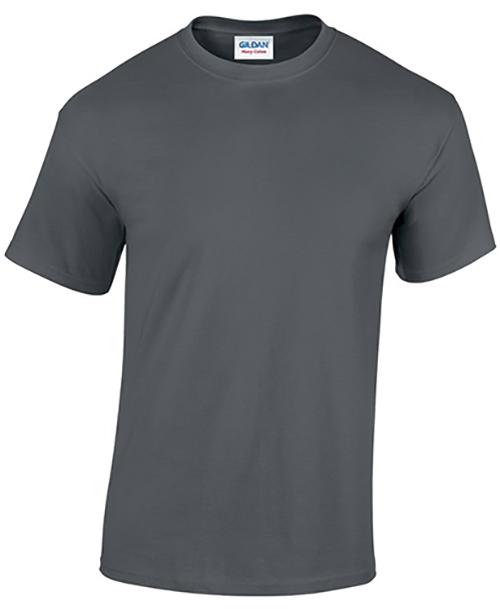 Charcoal Gildan Heavy Cotton T-Shirt