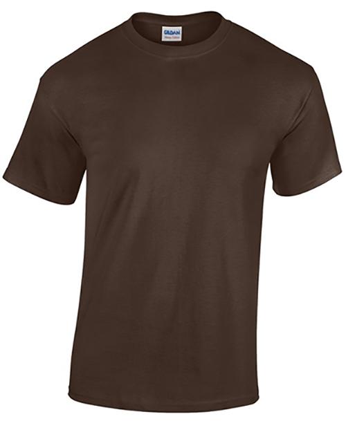 Dark Chocolate Gildan Heavy Cotton T-Shirt