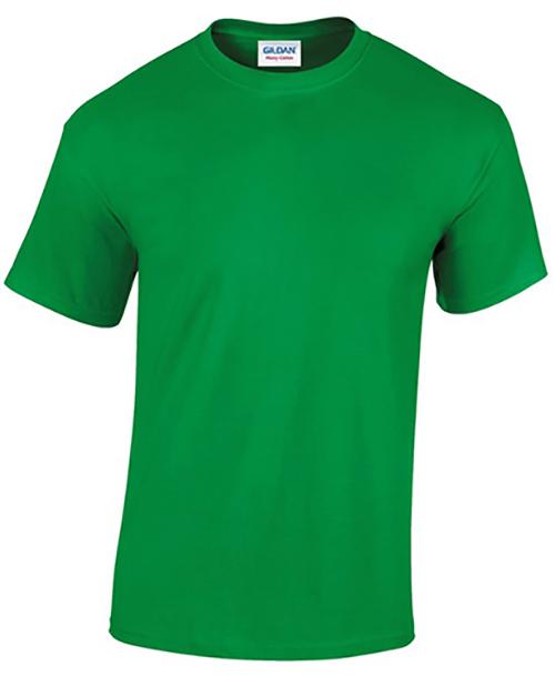 Irish Green Gildan Heavy Cotton T-Shirt