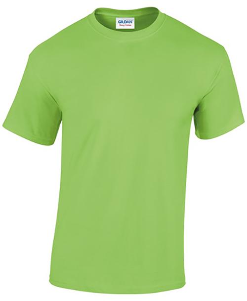 Lime Gildan Heavy Cotton T-Shirt