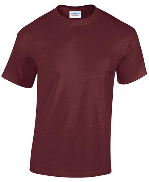Maroon Gildan Heavy Cotton T-Shirt