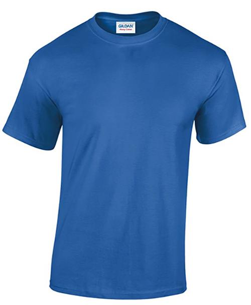 Royal Blue Gildan Heavy Cotton T-Shirt